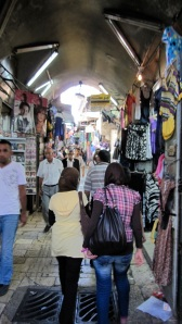 Inside the souk in the old city