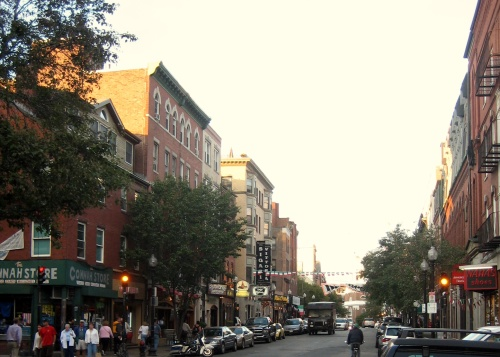 Hanover Street - Where I lived in Boston