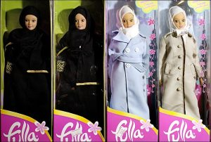 Fulla, sporting her different outfits