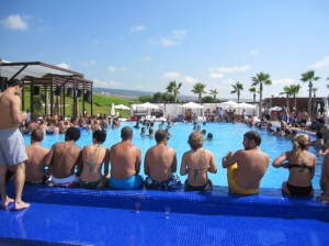 One of the pools in 'Oceana'