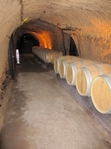 Inside the caves of Château Ksara