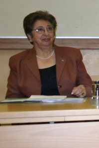 Mayor of Ramallah - Janet Michael