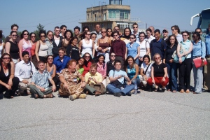 Our IIMCR group in Cyprus, 2005