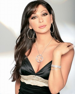Lebanese pop star Elissa, all dressed up